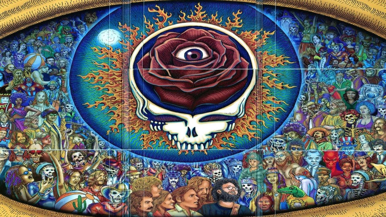 GRATEFUL DEAD classic rock hard     jg wallpaper