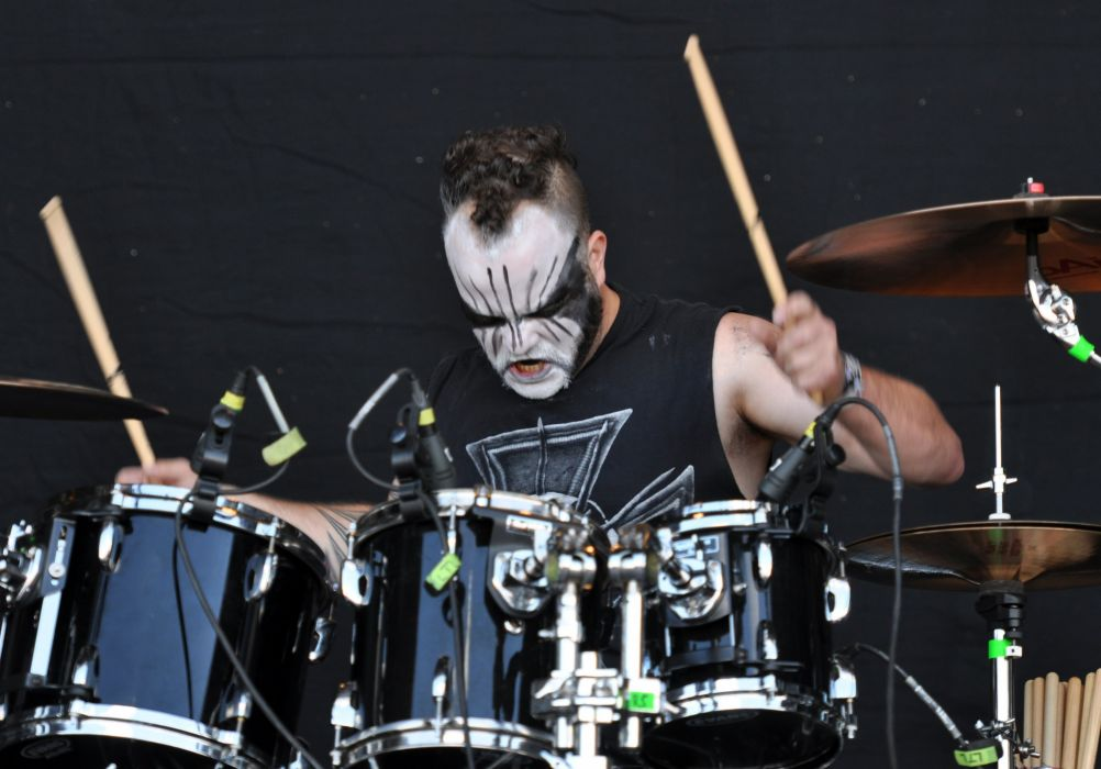 TSJUDER blask metal heavy concert drums    ert wallpaper