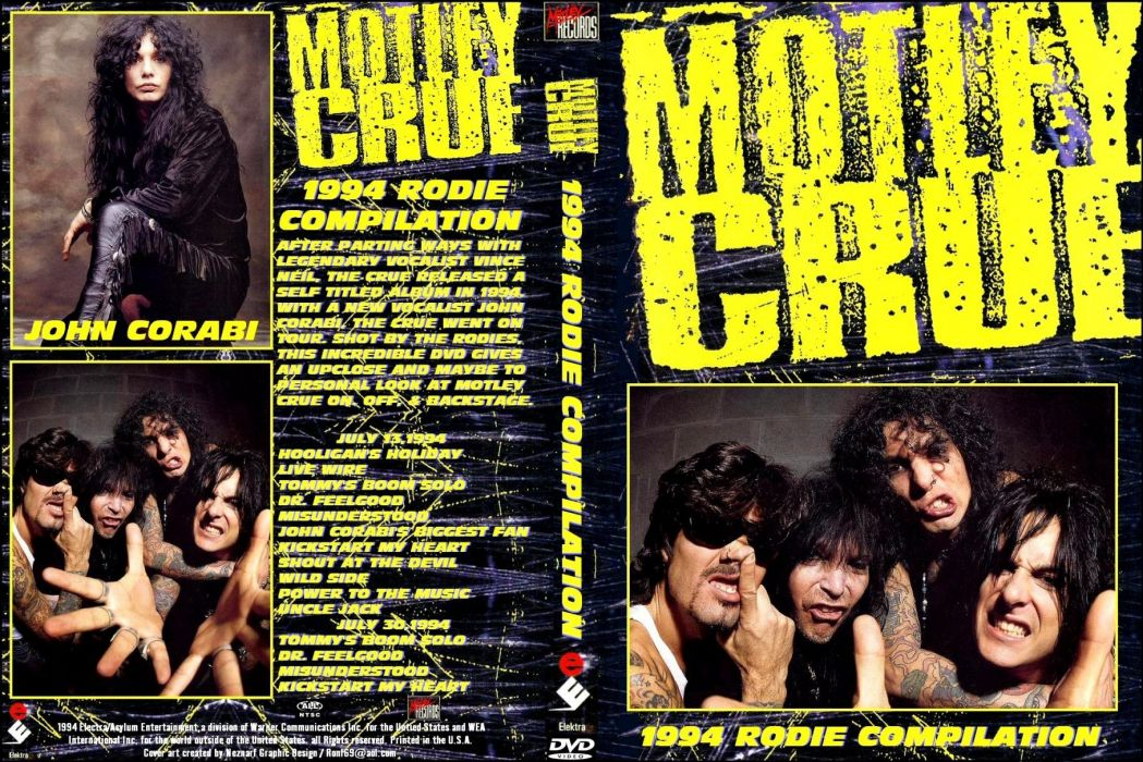 MOTLEY CRUE hair metal heavy poster    hs wallpaper