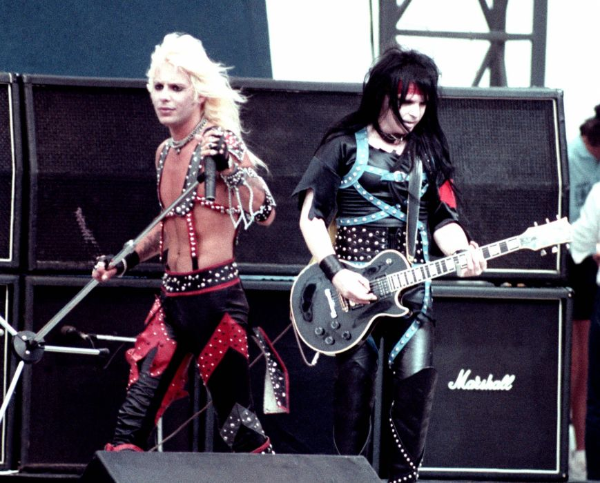 z MOTLEY CRUE hair metal heavy concert singer guitar wallpaper