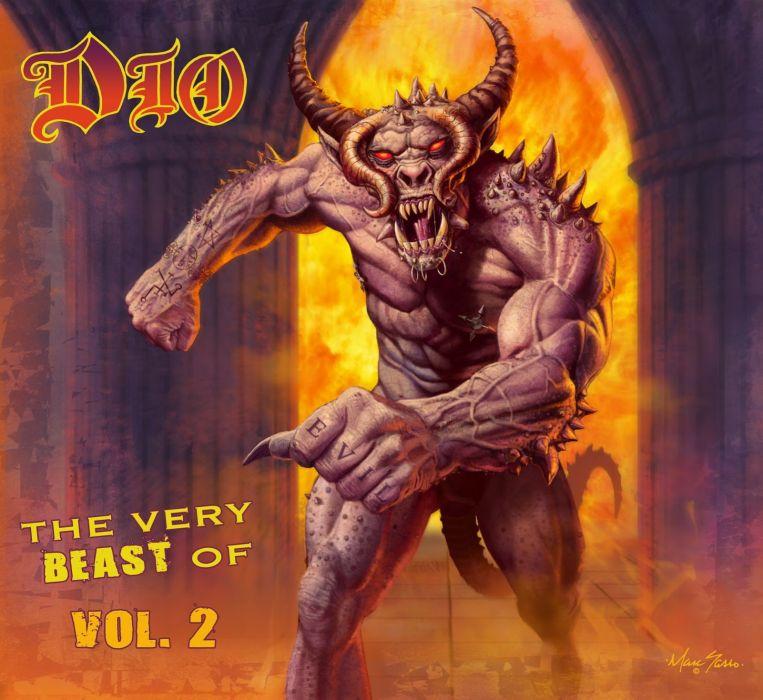 RONNIE JAMES DIO heavy metal fantasy dark demon poster   g wallpaper