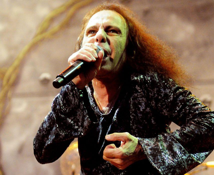RONNIE JAMES DIO heavy metal concert singert     gd wallpaper