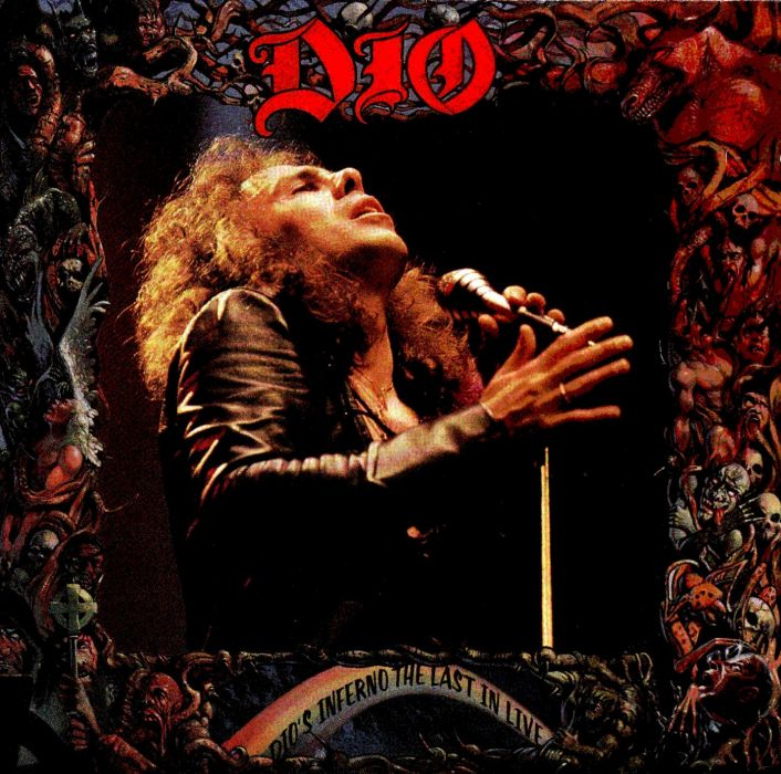 RONNIE JAMES DIO heavy metal poster    ge wallpaper