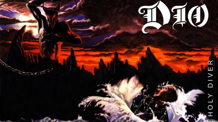 RONNIE JAMES DIO heavy metal poster demon dark fantasy d wallpaper