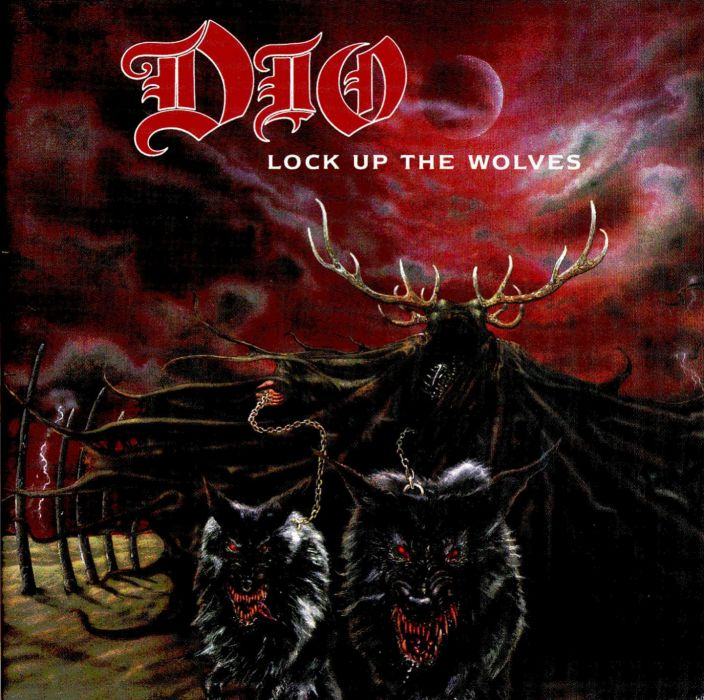 RONNIE JAMES DIO heavy metal poster dark fantasy wolf wolves   vd wallpaper