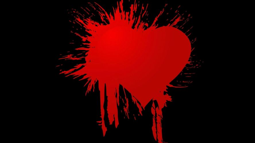 mood blood heart love gothic emo wallpaper