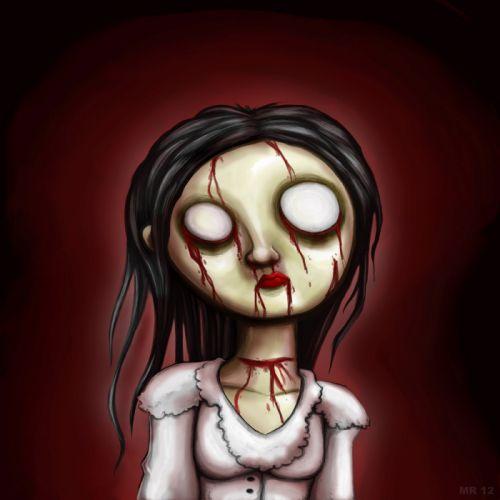 emo dark horror blood gothic wallpaper