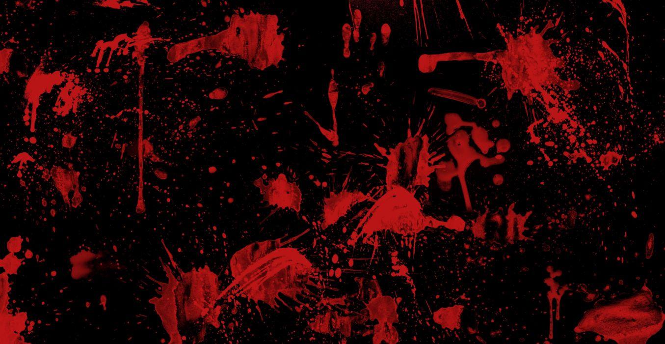 dark blood drops horror wallpaper