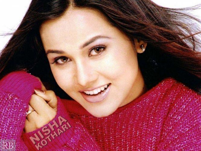 NISHA KOTHARI indian actress bollywood model babe g wallpaper