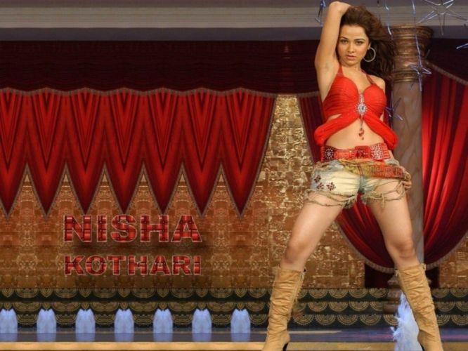 hot look nisha kothari wallpaper-other wallpaper
