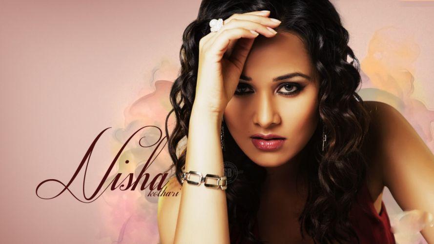 NISHA KOTHARI indian actress bollywood model babe (12) wallpaper