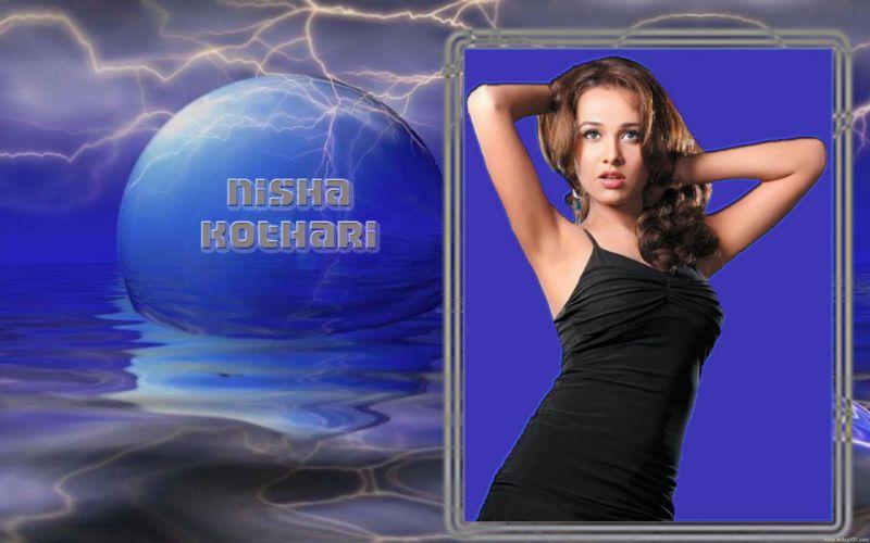 NISHA KOTHARI indian actress bollywood model babe (2) wallpaper