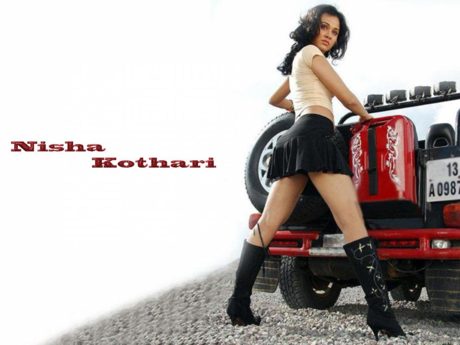 NISHA KOTHARI indian actress bollywood model babe (37) wallpaper