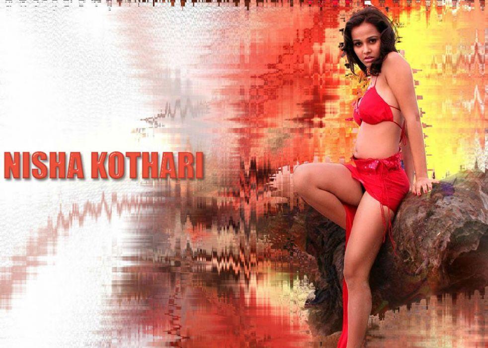 NISHA KOTHARI indian actress bollywood model babe (33) wallpaper
