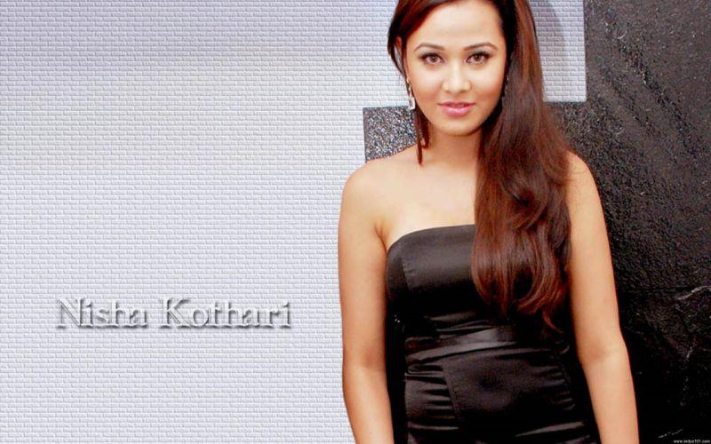 NISHA KOTHARI indian actress bollywood model babe (31) wallpaper