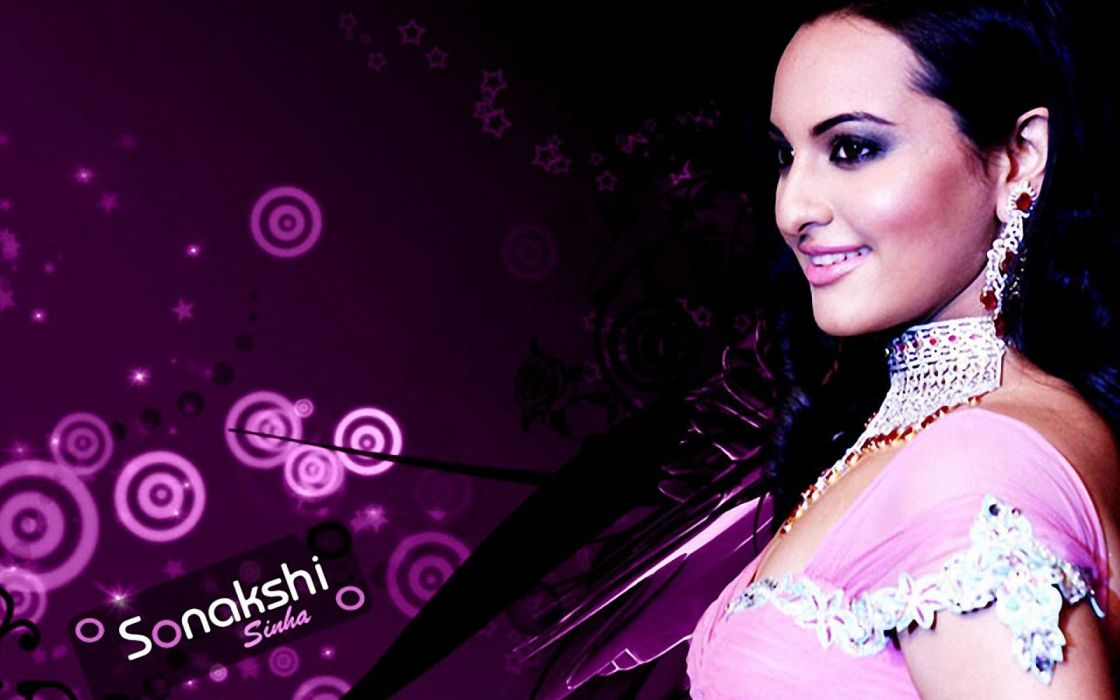 SONAKSHI SINHA indian actress bollywood babe model (18) wallpaper