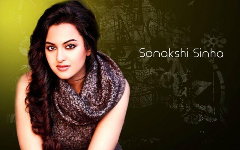 SONAKSHI SINHA indian actress bollywood babe model (11) wallpaper