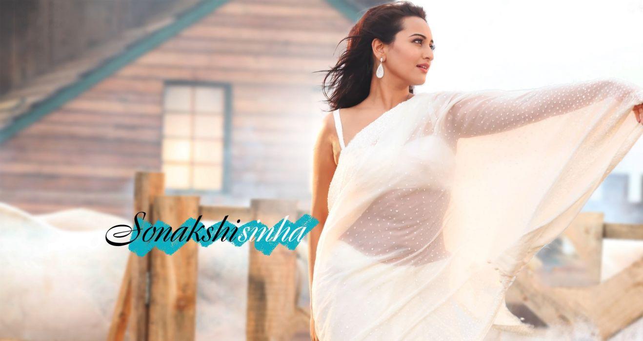 SONAKSHI SINHA indian actress bollywood babe model (46) wallpaper