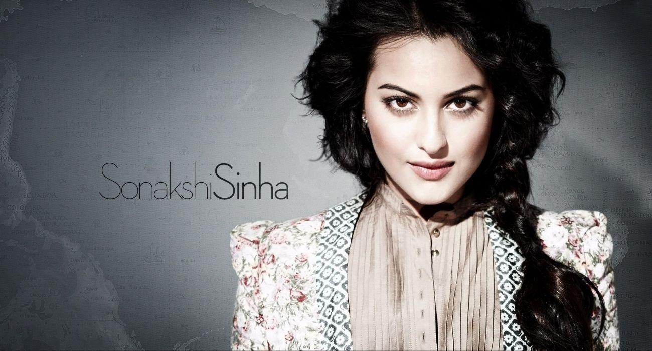 SONAKSHI SINHA indian actress bollywood babe model (32) wallpaper