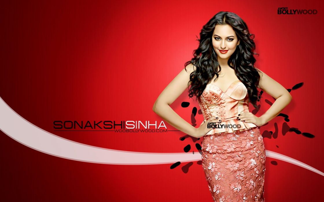 SONAKSHI SINHA indian actress bollywood babe model (27) wallpaper
