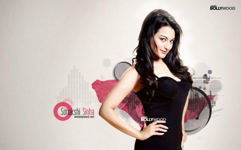 SONAKSHI SINHA indian actress bollywood babe model (25) wallpaper