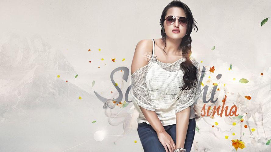 SONAKSHI SINHA indian actress bollywood babe model (84) wallpaper