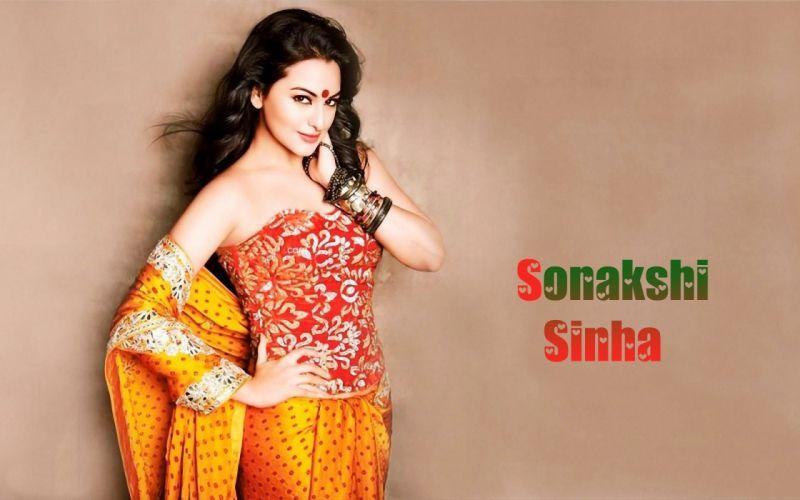 SONAKSHI SINHA indian actress bollywood babe model (93) wallpaper