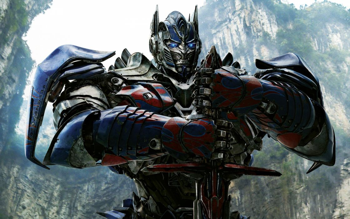 optimus prime in transformers 4-wide wallpaper