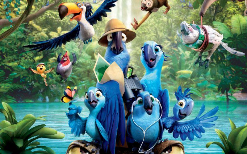 rio 2 movie-wide wallpaper