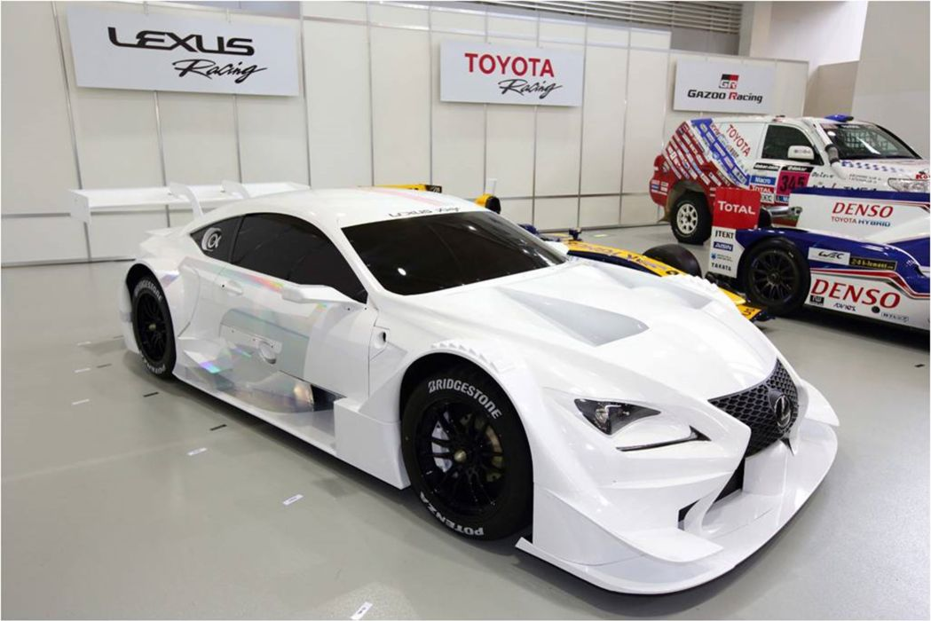 Here is the 2014 Lexus RC F GT500 produced for the SuperGT series in Japan_ 3000x2003 wallpaper