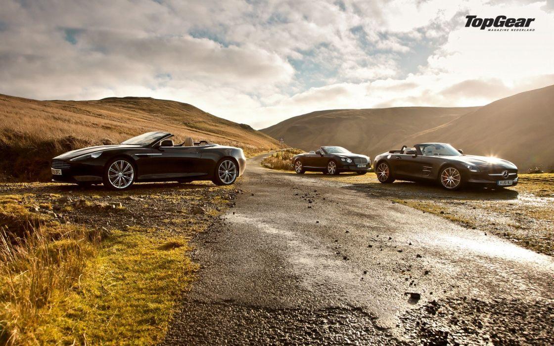 cars Top Gear Bentley Aston Martin aston wallpaper