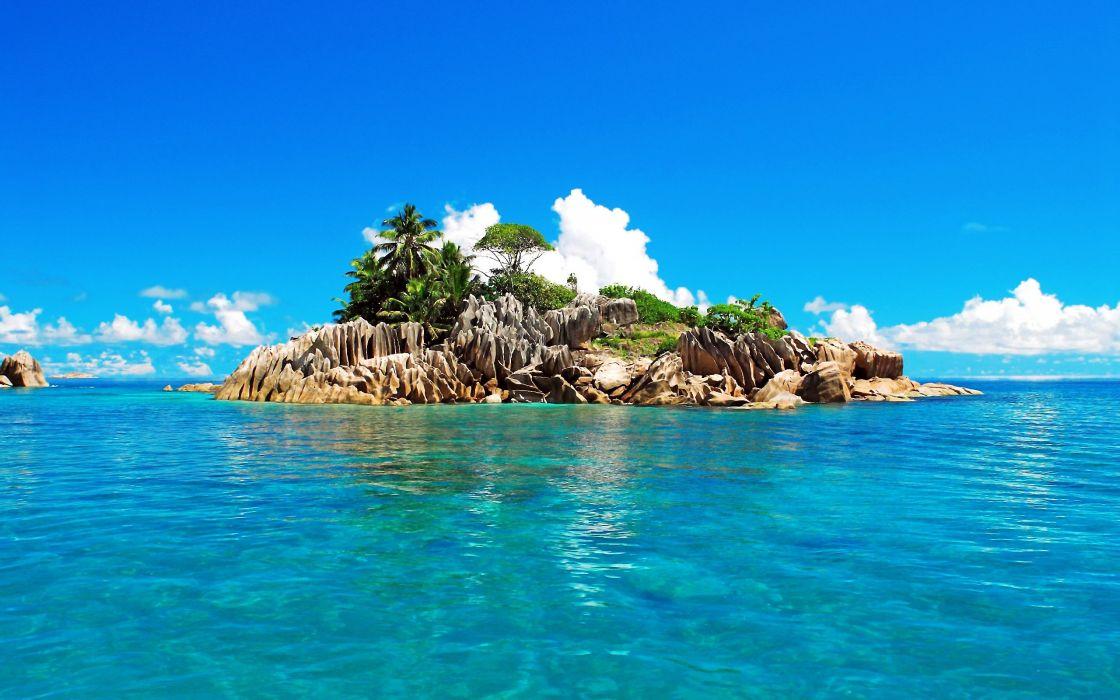islands Seychelles St_ Pierre Island wallpaper