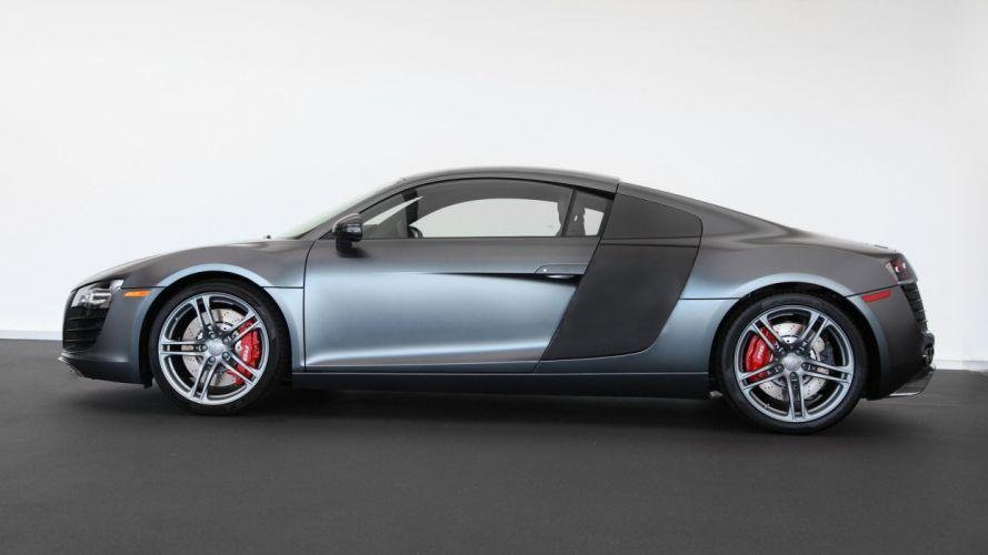 cars Audi Audi R8 sports cars grey cars wallpaper