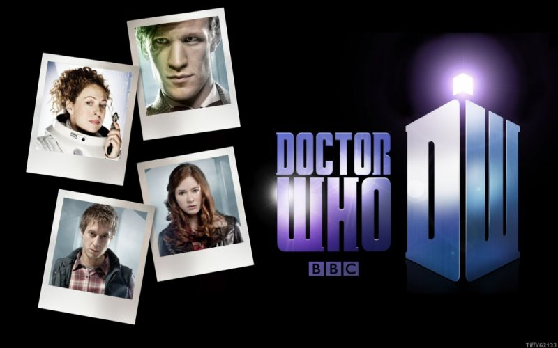 Matt Smith Amy Pond Eleventh Doctor Doctor Who River Song Rory Williams wallpaper