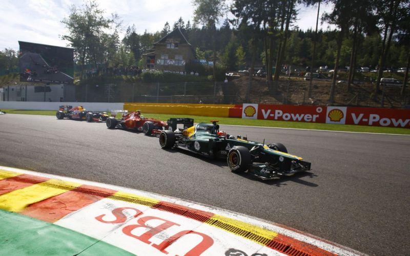 Formula One Spa Francorchamps wallpaper