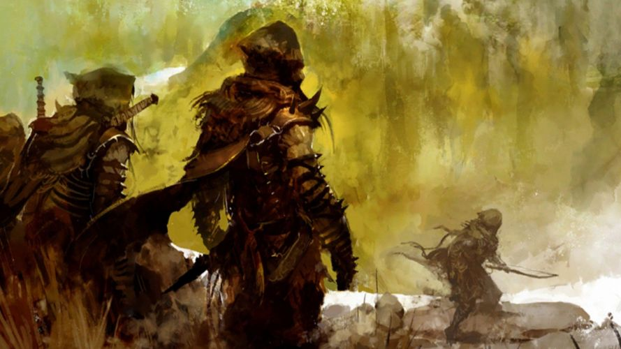 artwork Guild Wars 2 GW2 wallpaper