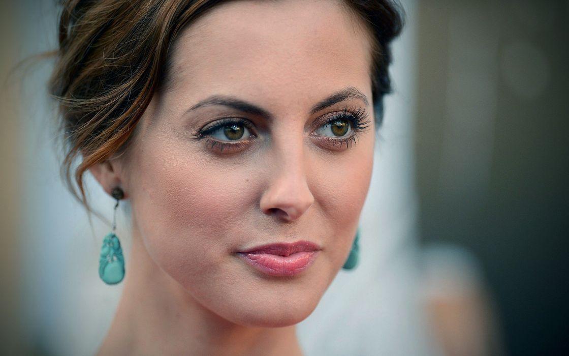 women actress Eva Amurri faces wallpaper
