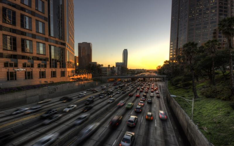 cityscapes cars HDR photography wallpaper