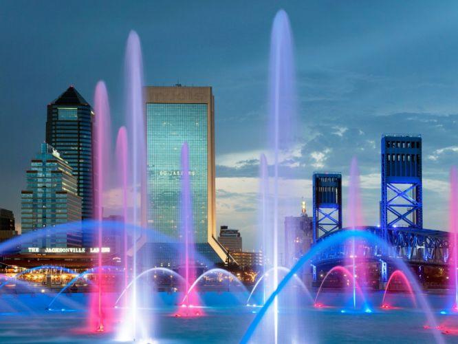 Florida friendship Jacksonville fountain wallpaper