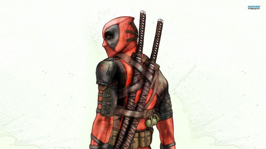 Deadpool Wade Wilson Marvel Comics drawings wallpaper