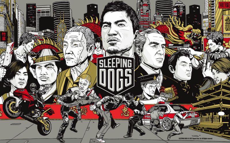 video games Sleeping Dogs wallpaper