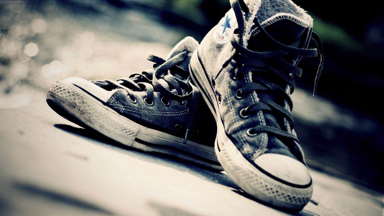 Wallpaper 1920x1080 Converse Shoes Sneakers 330536 Bokeh QFIwt41