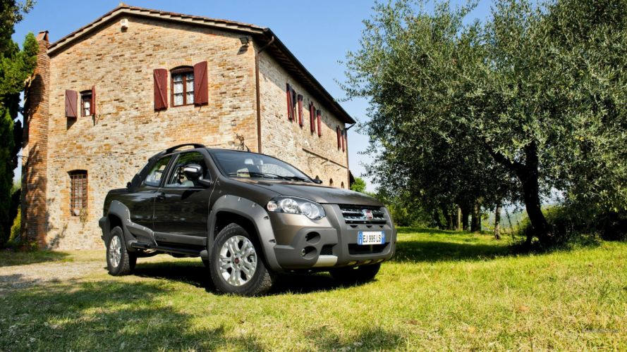 cars Fiat Fiat Strada wallpaper