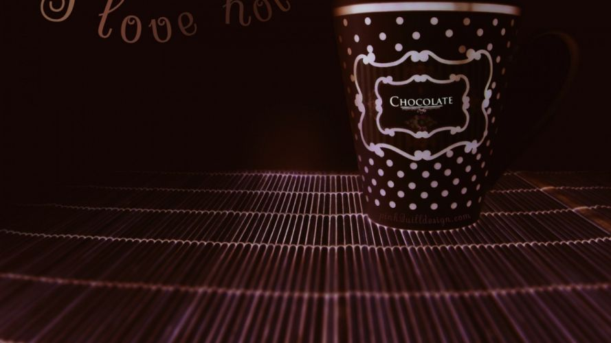 love hot chocolate wallpaper