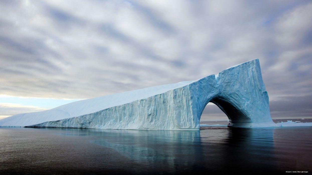 water ice ocean nature Greenland wallpaper