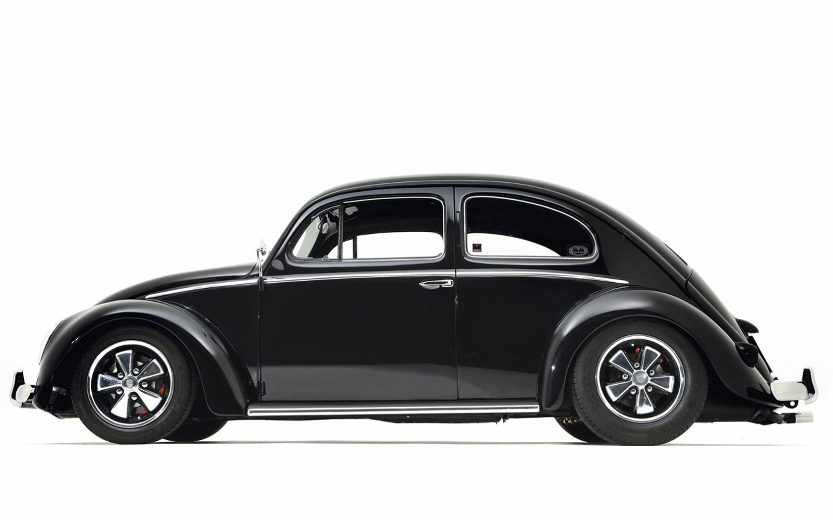 Cars monochrome vehicles volkswagen beetle side view wallpaper 1680x1050 330684 wallpaperup - Car side view wallpaper ...
