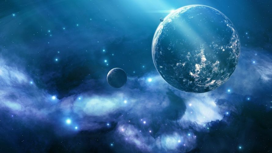 outer space space wallpaper