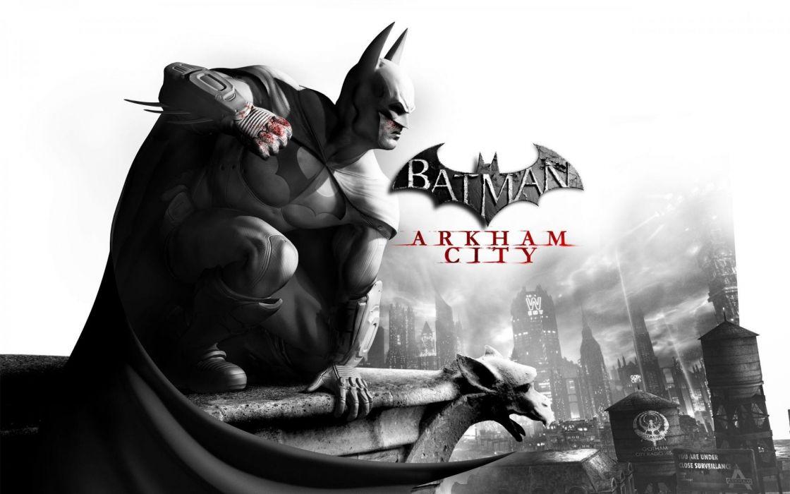 video games Arkham City posters Batman Arkham City wallpaper