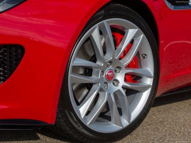 Wheel Brake Jaguar-F-Type R Coupe 2015 1600x1200 wallpaper bf wallpaper
