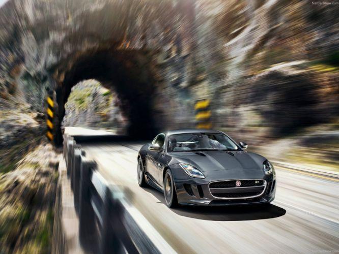 Jaguar-F-Type R Coupe 2015 1600x1200 wallpaper 09 wallpaper